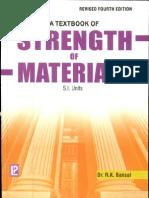 Strength of Material R.K.bansAL