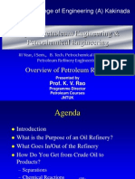 Overview of Petroleum Refining I