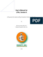 Lpile 6 User Manual, Version 1