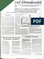 Vestitorul Ortodoxiei 189-1-15,10,1997, Pr. Prof. Dumitru Staniloae Despre Ecumenism CA Pan Erezie
