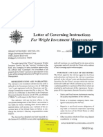 Wright Letter of Governing Instruction 1298 (GH-08)