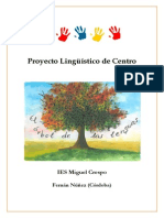 Proyecto Lingüístico de Centro (IES Miguel Crespo)