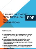 A Review of Toxicity From Topical Salicylic Acid