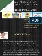 marketing strategy of amul .