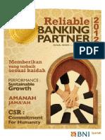 Annual Report 2012 BNI (Bank Negara Indonesia) Syariah
