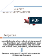 Tatalaksana Diet PPOK
