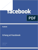 Erlang at Facebook