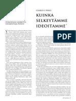 Peirce - Kuinka Selkeytämme Ideoitamme - How to Make Our Ideas Clear