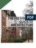 The Freshman s Guide to Architecture