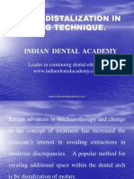 Molar Distalization in Begg Technique / orthodontic courses by Indian dental academy