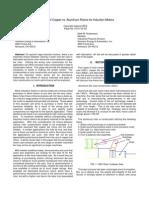 Selection of Copper vs. Aluminum Rotors for Induction Motors