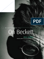 Badiou on Beckett Còpia