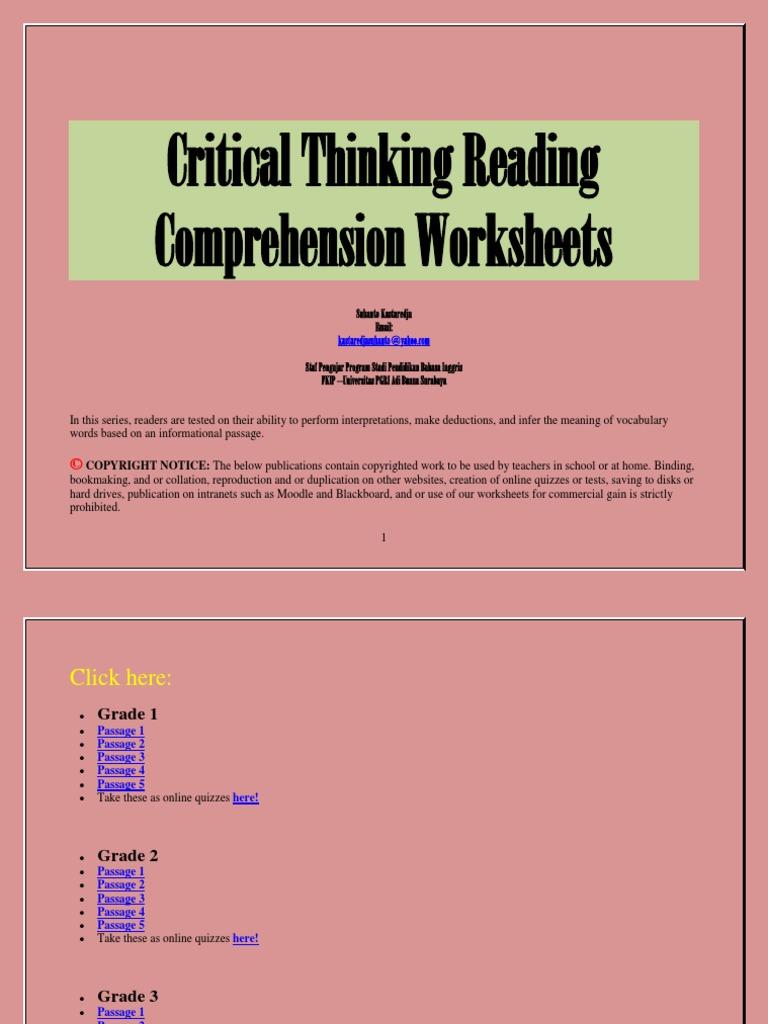 develop critical thinking through science Developing critical thinking through science book 2 developing critical thinking through science series book 1 book 2 written by paul eggen june main.