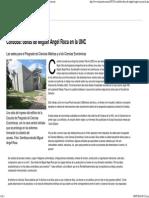 Obras de Miguel Angel Roca en La UNC - 09.04.2003 - Lanacion.com )