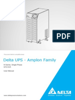 Delta UPS - Amplon Family  N Series, Single Phase 6/12 kVA