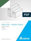Delta UPS - Amplon Family  N Series, Single Phase 1/2/3 kVA