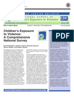 childrens exposure to violence