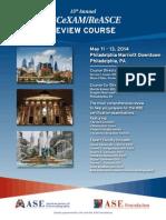 ACeXam ReviewCourse2014 PrelimProgram Web2