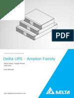 Delta UPS - Amplon Family  GAIA Series, Single Phase 1/2/3 kVA