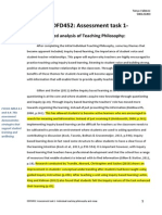 edfd452 assessment task 1 itp essay