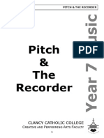 2012 7 3 pitch and the recorder booklet pdf