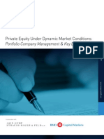FINAL REPORT - Private Equity Dynamic Conditions