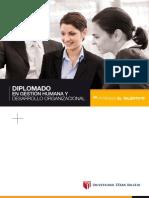 Gestion Humana y Desarrollo Organizacional