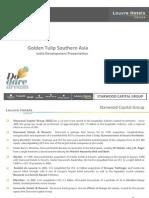 Golden Tulip India - Development Presentation 2014