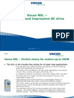 Vacon NXL_The_easy_and_impressive_AC_drive.ppt