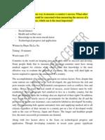 Các Yếu Tố Đánh Giá Thành Công Của Một Quốc Gia- Đáp Án Thi Ielts Ngày 12-10(2)