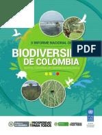 V Informe Nacional de Biodiversidad