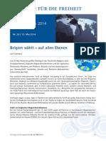 Hintergrund EU-Wahlen Belgien 15.5.14