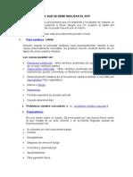 SITUACIONES (PRIMEROS AUXILIOS)