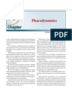 Phacodynamics and Phacoemulsification