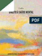 Cartilha Direito à Saúde Mental