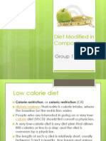 Diet Modified in Composition