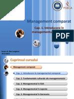 [MC-ro-prelegeri] [1] Introducere În Managementul Comparat
