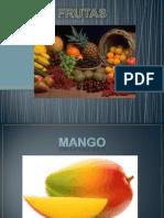Utilidades y Descripcion de Frutas