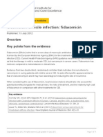 Clostridium Difficile Infection Fidaxomicin Esnm1