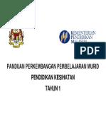 Pppm Pendidikan Kesihatan Tahun1
