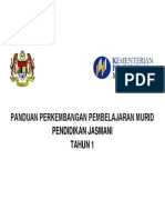 Pppm Pendidikan Jasmani Tahun1