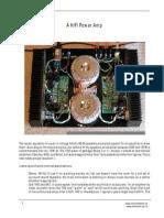 A HiFi Power Amp
