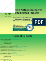 Environmental Natural Resource Management