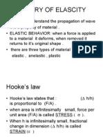 Theory of Elascity