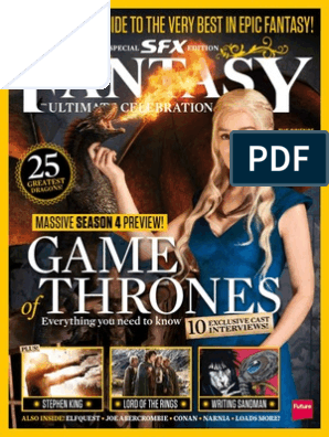 SFX Ultimate Guide To Fantasy (Game Of Thrones Special)-pdf (E-MAG