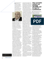 PLMR's James Ford writes about Austerity for Healthcare Business News