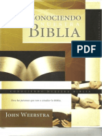 215347452 Conociendo Nuestra Biblia John Weerstra PDF