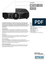 Epson EH-TW9200 3LCD Full HD 3D Home Theatre Projector