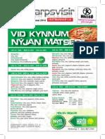 sjonvarpsvisir 8 - 14 mai2014 TV Guide 8 - 14 mai 2014