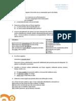 Gramática - Tipologia de Exame - 9º Ano - Ficha 7